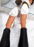 Joppa White Ballerinas