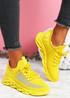 Hety Yellow Chunky Trainers