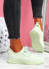 Envo Light Green Knit Trainers