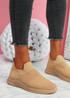 Mabba Camel Knit Running Trainers