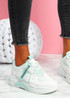 Lovy Green Chunky Trainers