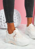Lovy Pink Chunky Trainers