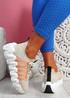Zeppa Khaki Chunky Sneakers