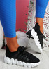 Zeppa Black Chunky Sneakers