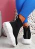 Roka Black Sock Chunky Sneakers