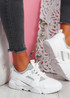 Nommy Grey Chunky Trainers