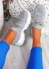 Tilla Grey Chunky Sport Trainers