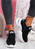 Tony Black Sport Sneakers