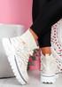 Rife Beige Sock Chunky Trainers