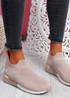 Rovy Pink Sock Sneakers