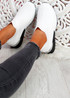 Rovy White Sock Sneakers