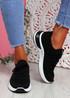 Goka Black Sport Sneakers