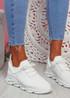Nuza White Sport Sneakers