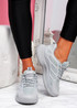 Forre Grey Running Trainers