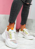 Lare Green Chunky Sneakers