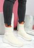 Mimmy Beige Sock Sneakers