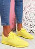 Fego Yellow Running Sneakers
