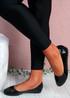 Joby Black Patent Flat Ballerinas