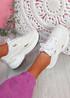 Yusa White Chunky Sneakers