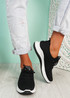 Lommy Black Sport Trainers