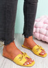 Trinna Yellow Front Chain Sandals