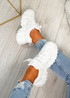 Lanny White Chunky Sport Trainers