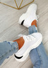 Geny White Chunky Sneakers