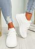 Fanno White Knit Sport Sneakers