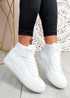 Magge All White High Top Trainers