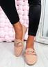 Kimberly Pink Flat Ballerinas