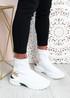 Syeda White Sock Sneakers