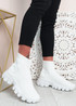 Polly White Sock Sneakers
