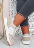 Saskia Beige Pink Sport Sneakers