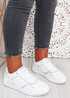 Saskia White Grey Sport Sneakers