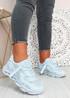 Tia Blue Chunky Sport Sneakers