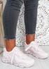 Tia Pink Chunky Sport Sneakers
