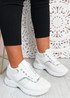 Emmie White Chunky Trainers