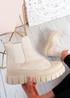 Emilia Beige Chelsea Ankle Boots