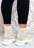 Kara Beige Chunky Sock Chunky Sneakers