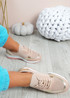 Alexie Pink Wedge Trainers