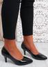 Liberty Black Stiletto Heels Pumps