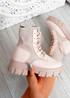 Savannah Beige Chunky Boots