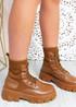 Savannah Camel Chunky Boots