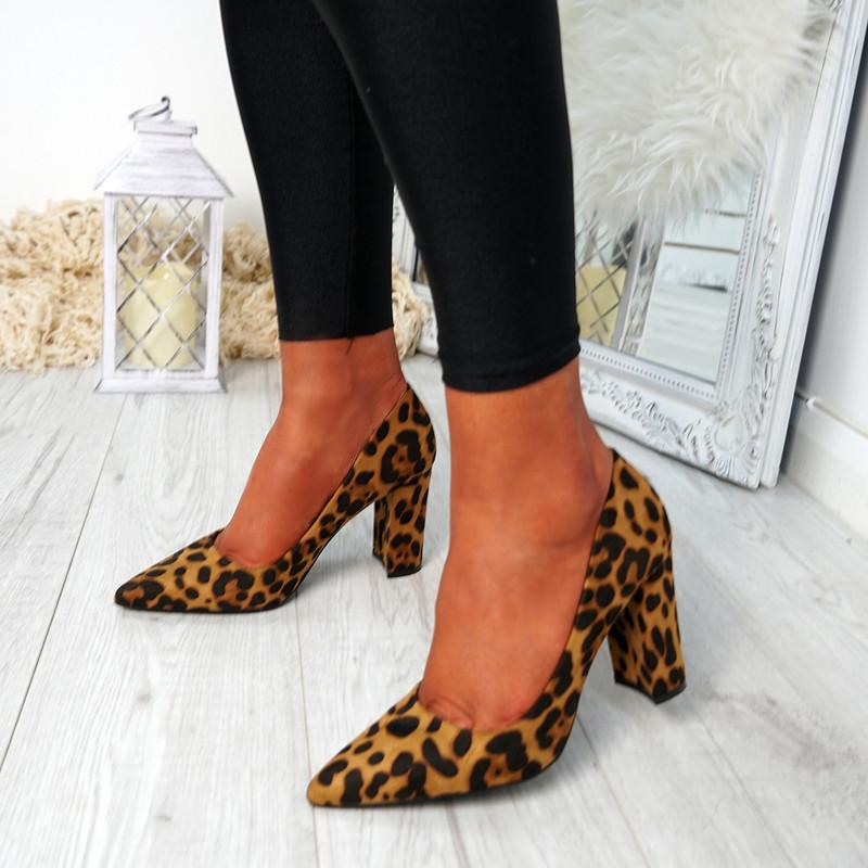 Ryam Leopard Court Pumps