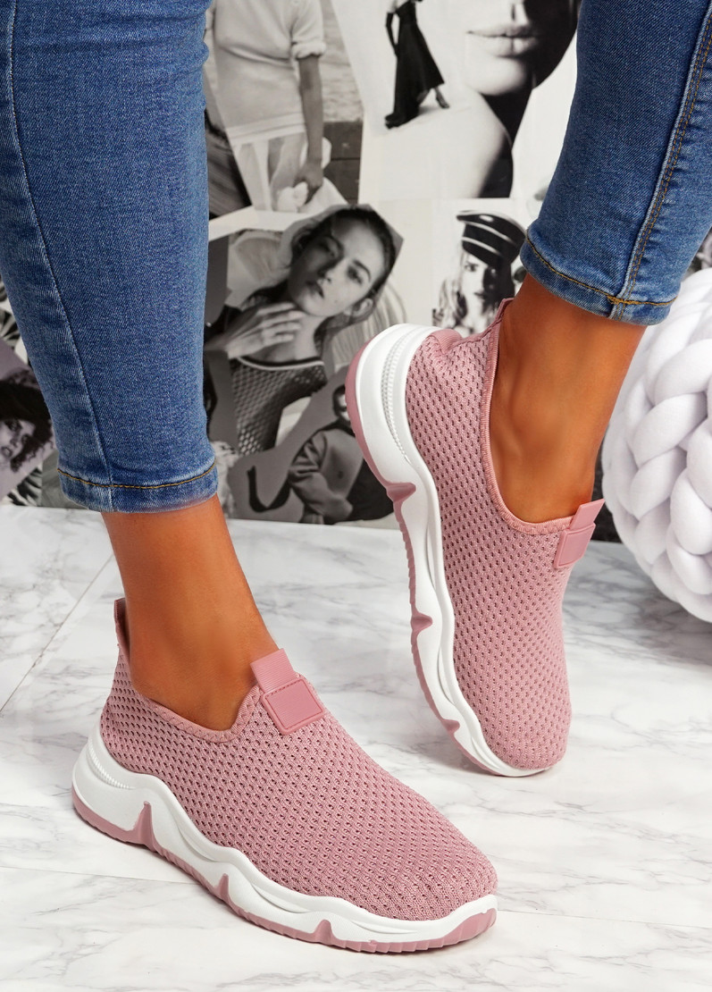 Tico Pink Sport Trainers