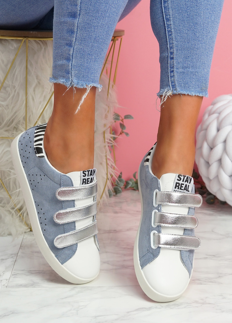 Hesa Blue Sport Plimsolls