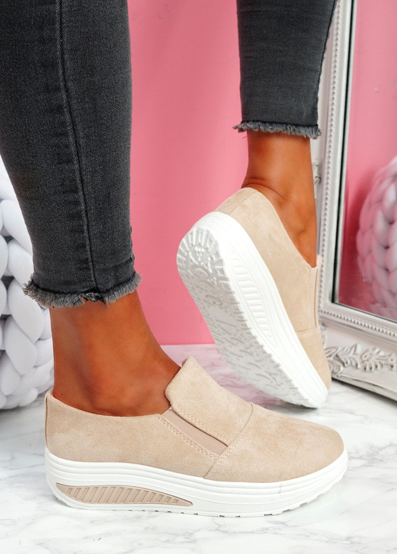 Lote Light Pink Slip On Sport Trainers