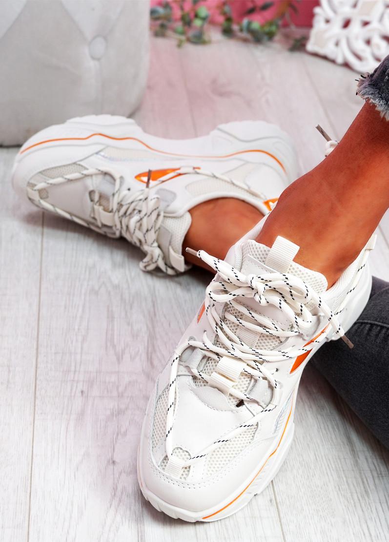 Jona Beige Chunky Sneakers