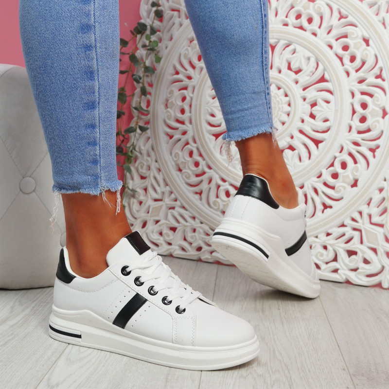 Jomy Black Lace Up Trainers