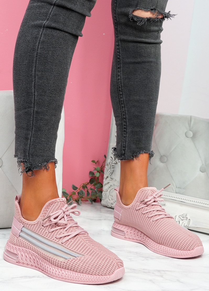 Gonna Pink Knit Sneakers